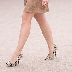 Cotton Candy Dresses - Tan Faux Suede A Line Cutout Dress with Pockets